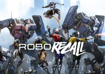 Texturing Epic Games' Robo Recall: Substance Painter for VR Workflows