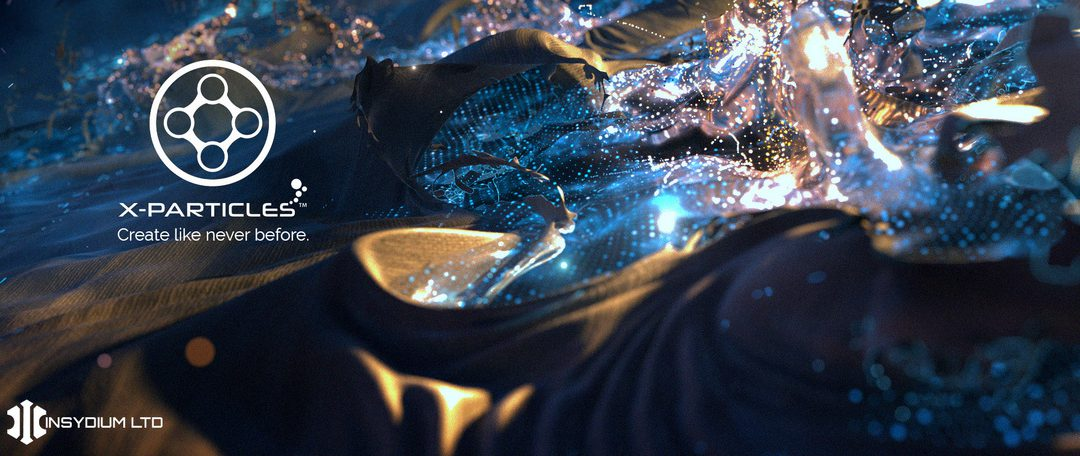 X-Particles 4 Available Immediately
