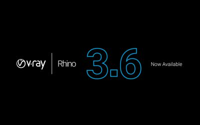 V-Ray 3.6 for Rhino has arrived