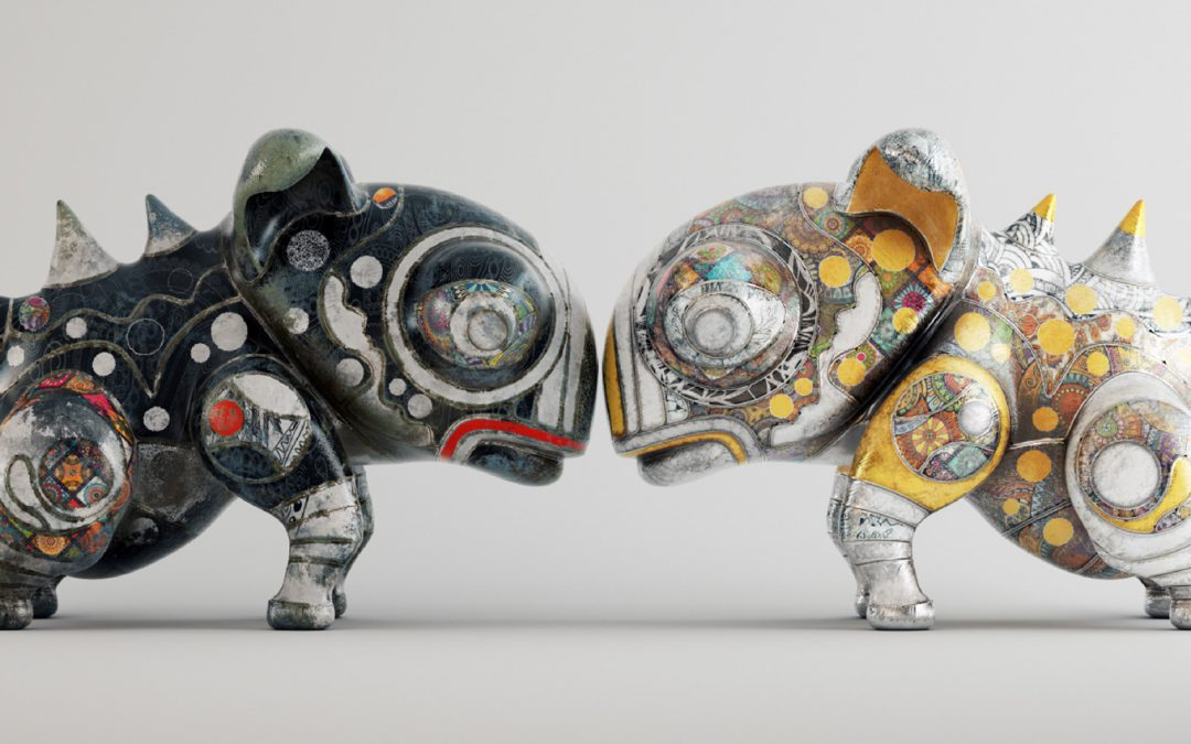 Creating Ceramic Creatures For Adobe's Project Aero with Stuart Lynch