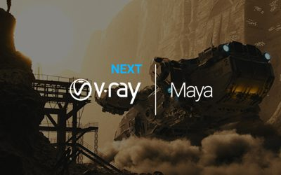 V-Ray Next for Maya has landed. And it's up to 7x faster.